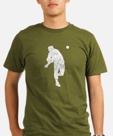 Vintage Baseball Pitcher T-Shirt