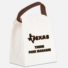 Texas Theme Park Manager Canvas Lunch Bag