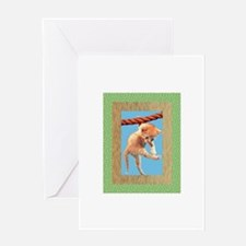Hang In There, Baby Greeting Card
