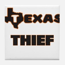 Texas Thief Tile Coaster