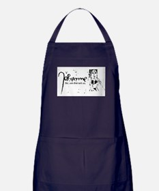 Joan of Arc - Act, and God will act. Apron (dark)