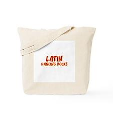 Latin Dancing Rocks Tote Bag