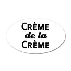 Creme de la Creme Wall Decal