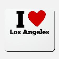 I Heart Los Angeles Mousepad