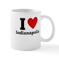 I Heart Indianapolis Mugs