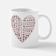 Running Heart Mug