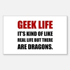 Geek Life Dragons Decal