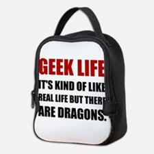 Geek Life Dragons Neoprene Lunch Bag