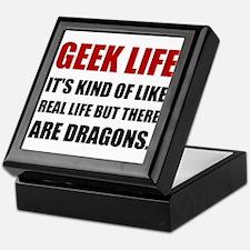 Geek Life Dragons Keepsake Box