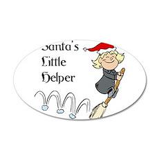 Santa's Little helper Wall Decal
