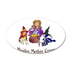 Maiden Mother Crone Wall Decal