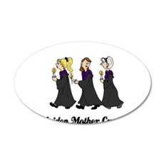 Three Women in Robes Wall Decal