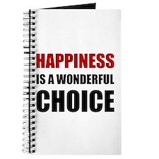 Happiness Wonderful Choice Journal