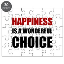 Happiness Wonderful Choice Puzzle