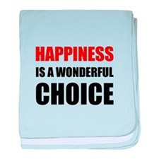 Happiness Wonderful Choice baby blanket