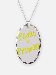 Pagan Princess Yellow Necklace