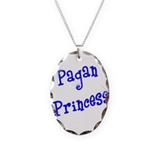 Pagan Princess Blue Necklace