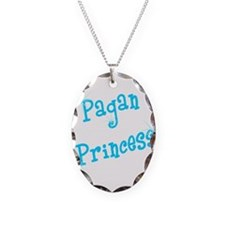 Pagan Princess Teal Necklace