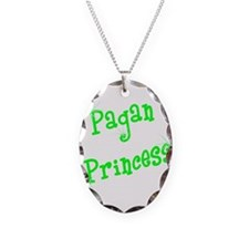 Pagan Princess Green Necklace
