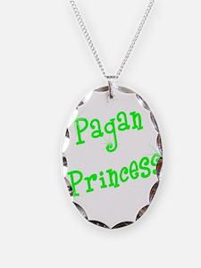Pagan Princess Green Necklace