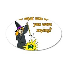 What were you saying? Wall Decal