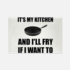 Kitchen Fry Want To Magnets