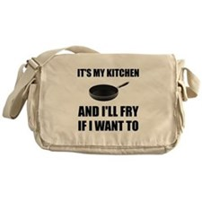 Kitchen Fry Want To Messenger Bag