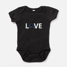 Love Alaska Baby Bodysuit