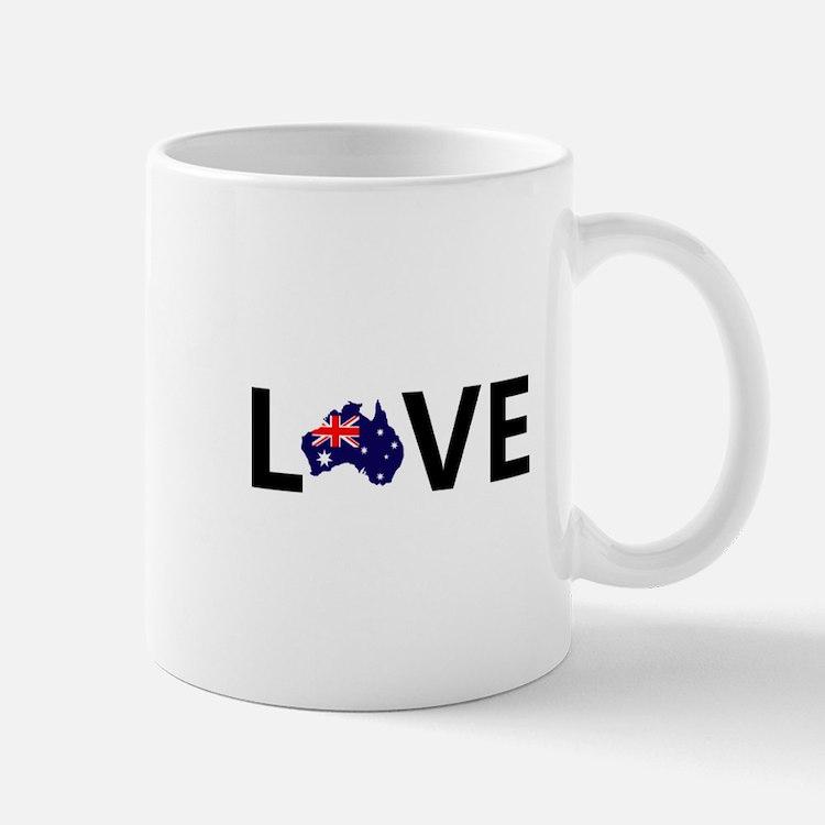 Love Australia Mugs