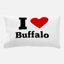 I Heart Buffalo Pillow Case