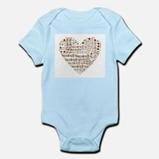 Horses Heart for Horse Lovers Body Suit