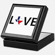Love Texas Keepsake Box