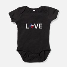Love Texas Baby Bodysuit