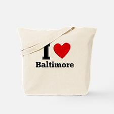 I Heart Baltimore Tote Bag