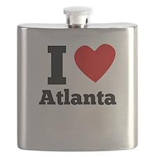 I Heart Atlanta Flask
