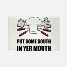 South In Yer Mouth Magnets