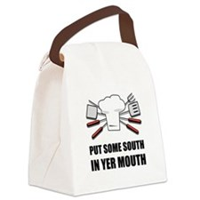 South In Yer Mouth Canvas Lunch Bag