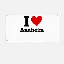 I Heart Anaheim Banner