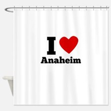 I Heart Anaheim Shower Curtain