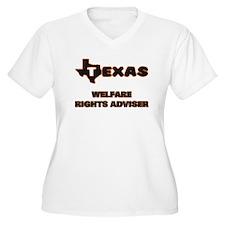 Texas Welfare Rights Adviser Plus Size T-Shirt