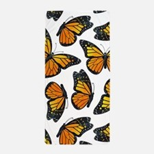 Monarch Butterfly Pattern Beach Towel