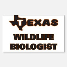Texas Wildlife Biologist Decal