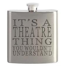 Cute Theater Flask