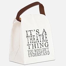 Unique Drama Canvas Lunch Bag