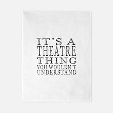 Cute Theatre Twin Duvet
