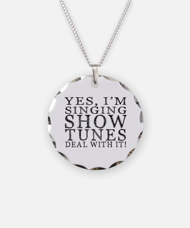 Cute Musical theatre Necklace