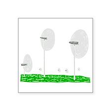 """pretty windmills.png Square Sticker 3"""" x 3"""""""