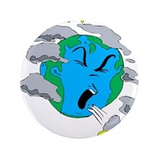 """go solar with a solar panel.png 3.5"""" Button (100 p"""