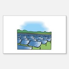 i farm solar power.png Sticker (Rectangle)