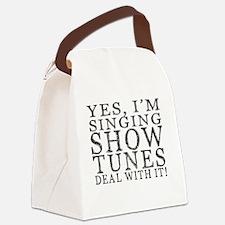 Cute Theatre Canvas Lunch Bag